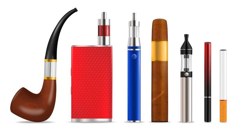 Verdampfer oder nicht? Pfeife, E-Zigaretten, Zigarre, Zigarette